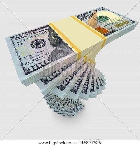 Twisted Bundle Of Money