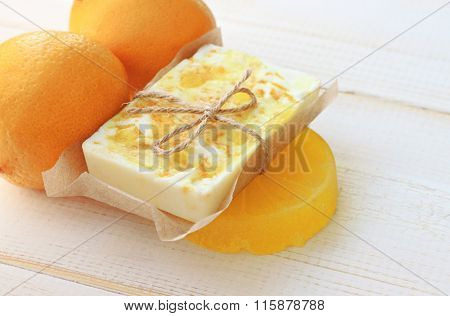 Fruit soap
