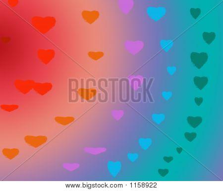 Valentines Rainbow
