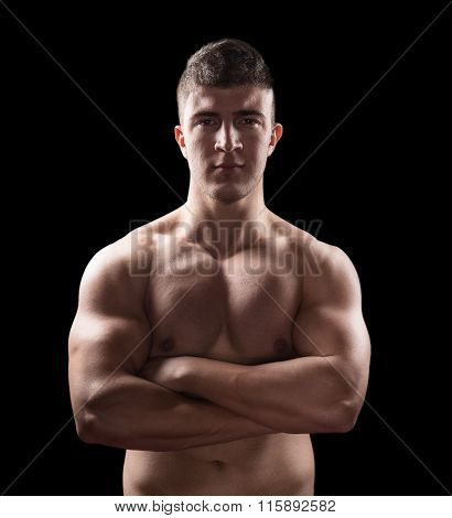 Muscular Young Male