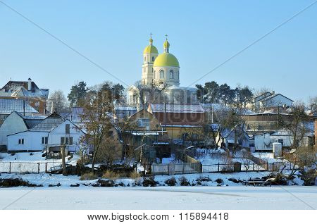 Bila Tserkva, Ukraine - January 24, 2016. Orthodox Church of St. Mary Magdalene.