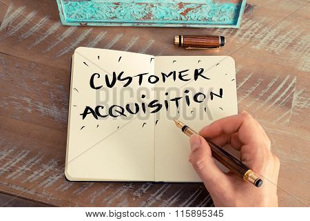 Handwritten Text Customer Acquisition
