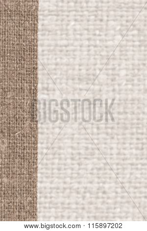 Textile Surface, Fabric String, Buff Canvas, Parchment Material, Detail Background