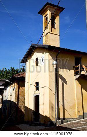 Lombardy    In  The Castiglione Olona    Old   Church