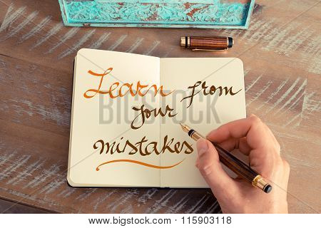 Handwritten Text Learn From Your Mistakes