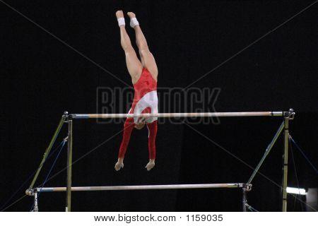 Gymnast Uneven Bars 01