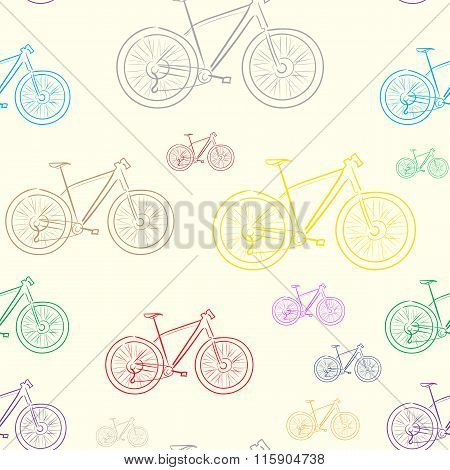 Seamless color bicycles