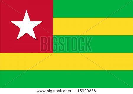 Standard Proportions For Togo Flag