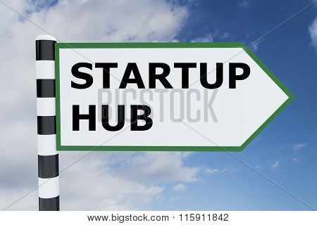 Startup Hub Concept