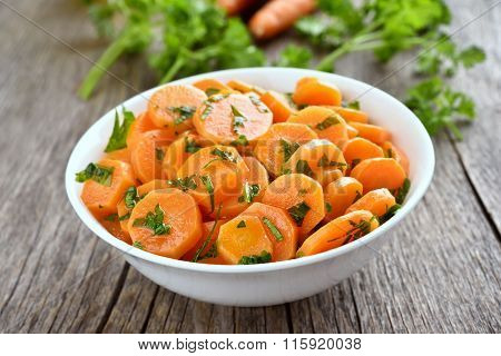 Vegetables Salad With Carrot