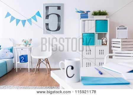 Child Room With Beautiful Decorations