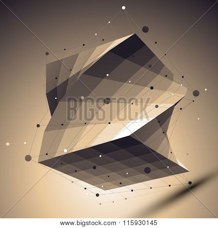 Geometric Vector Abstract 3D Complicated Lattice Backdrop, Undertone Eps8 Twist Technology Squared I