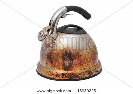 Rusty Old Tea Pot