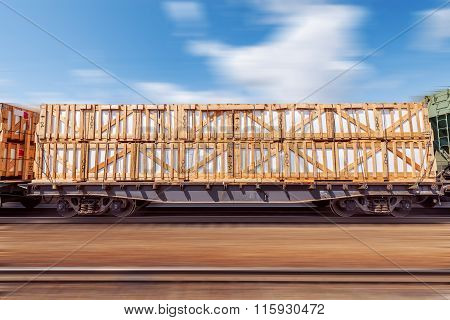 Loaded Freight Carriage.