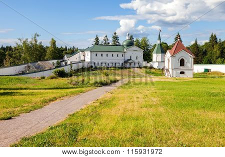 Valday Iversky Monastery In The Novgorod Region, Russia. Monastery Was Founded In 1653