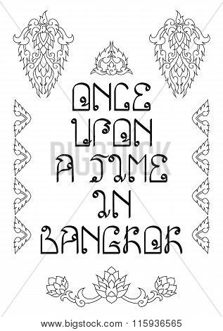 Once Upon a Time in Bangkok Holidays Memories Poster