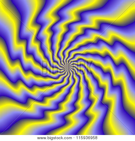 Colorful Illustration Of Psycho Spiral