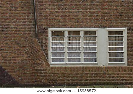Amsterdam School Ground Floor Windows