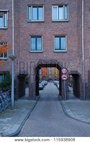 Amsterdam School Alley