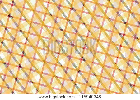 Yellow, Pink, Gray Computer Generated Abstract Geometric Pattern