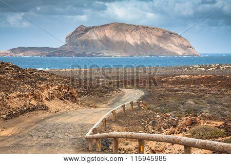 La Graciosa - On The Way To Las Conchas Beach