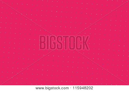 Computer Generated Abstract Pink Pattern With Square Dots