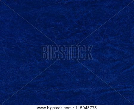 Blue Leatheretter Background