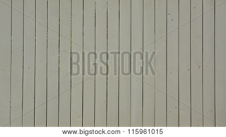 Beige Painted Wooden Fence Background.
