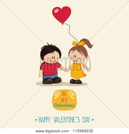 Happy Couple. Valentine's Day