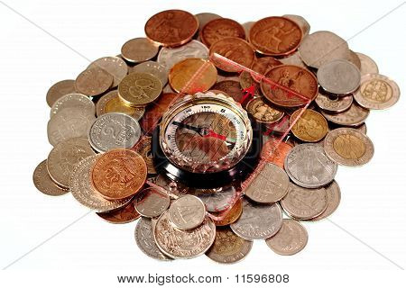 Coins With Compass