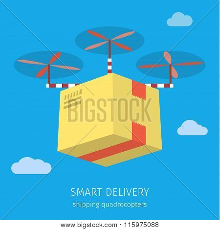 Concept for delivery service.