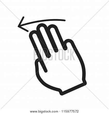Three Fingers Left