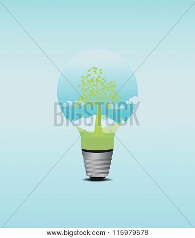 Green Tree Bulb.