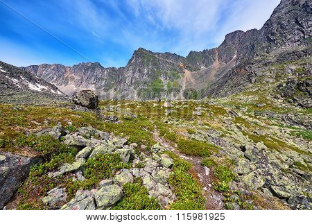 Hiking Trails In The Mountains