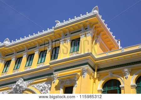 Fragment of Post Office building in Saigon