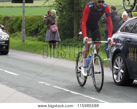 Bradley Wiggins Tour De Yorkshire 2015