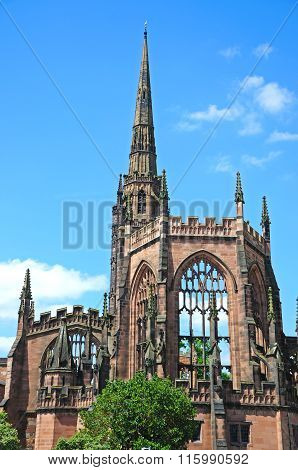 The old Cathedral, Coventry.