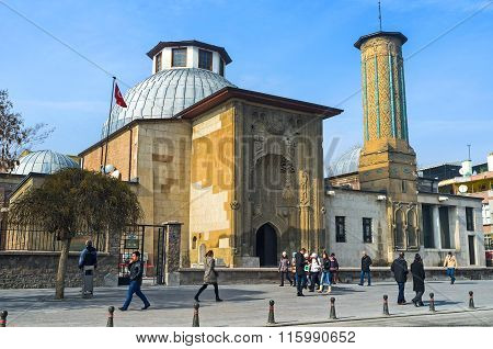 The Slender Minaret Madrasah In Konya