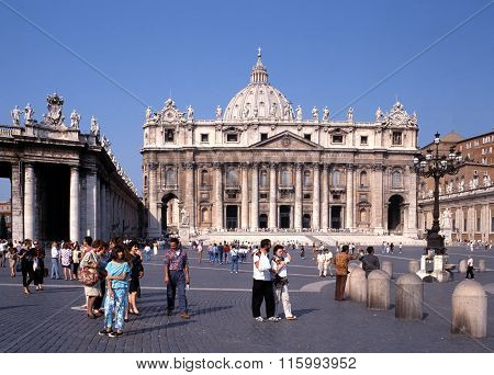 St Peters Basilica, Rome.