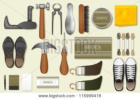 Identity branding mockup for cobbler