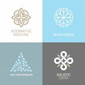 Vector Set Of Abstract Logos poster