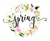 Spring Postcard, Card, Invitation, Flyer, Banner Template