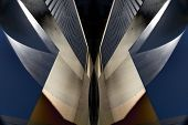 Architectural Abstract Design poster