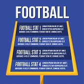 American Football Uprights poster