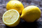 Постер, плакат: Fresh lemons
