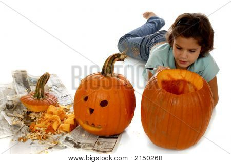 Planning The Pumpkin Face