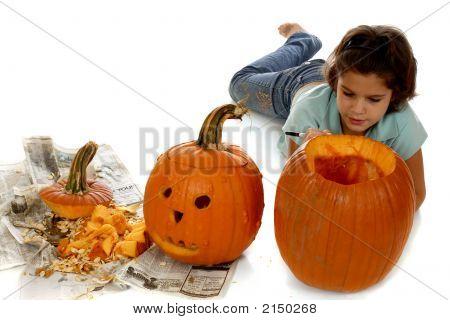 Planning The Pumpkin Face