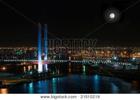 Dockland Bridge Nightsky