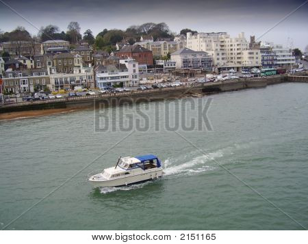 Cowes And Boat