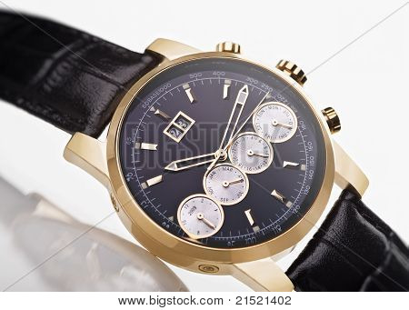 Gold Men's Wristwatch